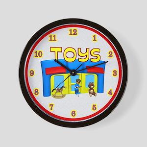 toys wallclock Wall Clock