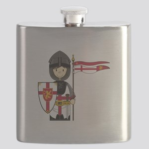 Knight Button 1 Flask