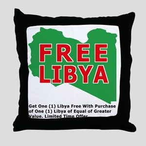 freelibya Throw Pillow