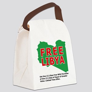 freelibya Canvas Lunch Bag