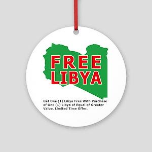 freelibya Round Ornament