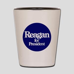 Reagan-button Shot Glass