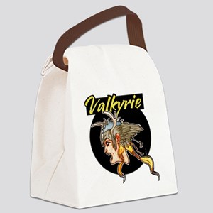 Valkyrie CAFEPRESS BLACK copy Canvas Lunch Bag