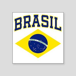 """brazilcolor Square Sticker 3"""" x 3"""""""
