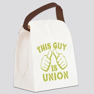 This GUy is Union-GD Canvas Lunch Bag