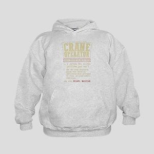 Crane Operator Funny Dictionary Term Sweatshirt