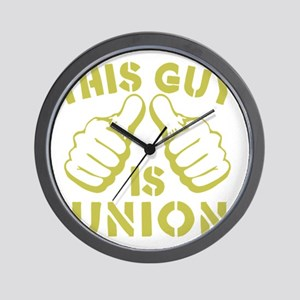 This GUy is Union-GD Wall Clock