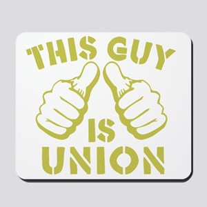This GUy is Union-GD Mousepad