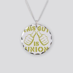 This GUy is Union-GD Necklace Circle Charm