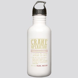 Crane Operator Funny D Stainless Water Bottle 1.0L