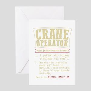 Crane greeting cards cafepress crane operator funny dictionary ter greeting cards m4hsunfo
