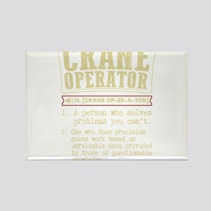 Crane Operator Funny Dictionary Term Magnets