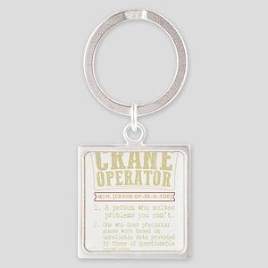 Crane Operator Funny Dictionary Term Keychains