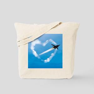Air Force Love Tote Bag