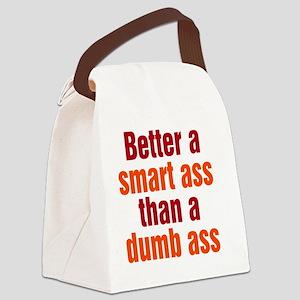 smart-ass_tall1 Canvas Lunch Bag