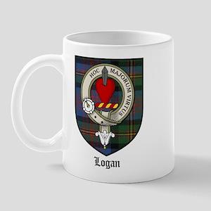 Logan Clan Crest Tartan Mug