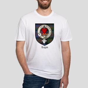 Logan Clan Crest Tartan Fitted T-Shirt