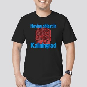 Having Oblast in Kalin Men's Fitted T-Shirt (dark)