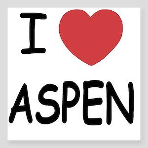 "ASPEN Square Car Magnet 3"" x 3"""