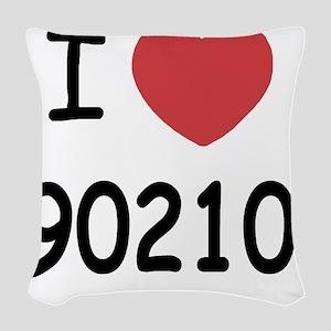 90210 Woven Throw Pillow