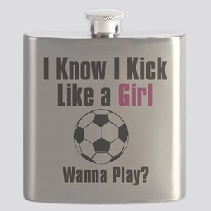 kick like girl Flask