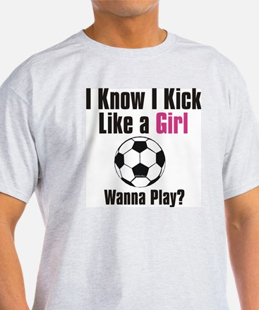 kick like girl T-Shirt