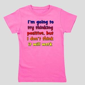 positive-thinking_tall2 Girl's Tee