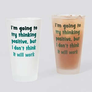 positive-thinking_tall1 Drinking Glass