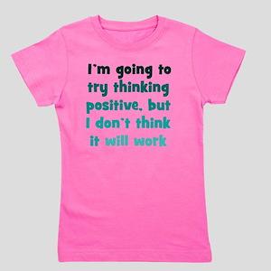 positive-thinking_tall1 Girl's Tee