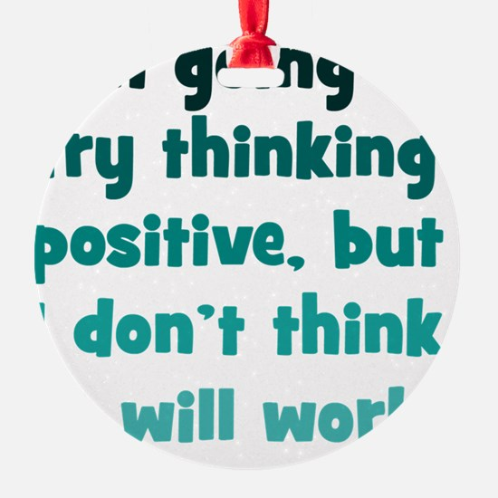 positive-thinking_tall1 Ornament