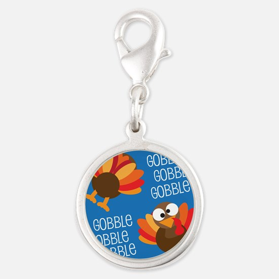 Turkey Gobble Thanksgiving Charms