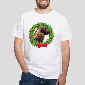 Xmas Amer Water Spaniel T-Shirt