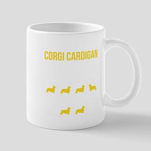 Corgi cardigan Stubborn Tricks Mugs