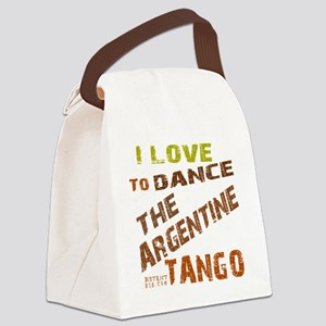 argentine_tango_love_to_dance_bro Canvas Lunch Bag
