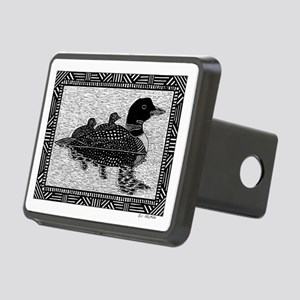 Loons Rectangular Hitch Cover