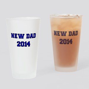 NEW DAD 2014 Drinking Glass