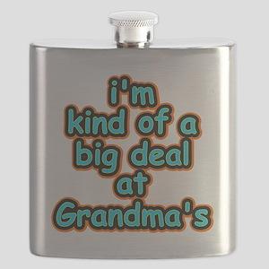 Big Deal At Grandmas Flask