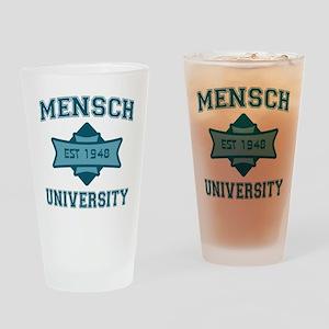mensch_u Drinking Glass