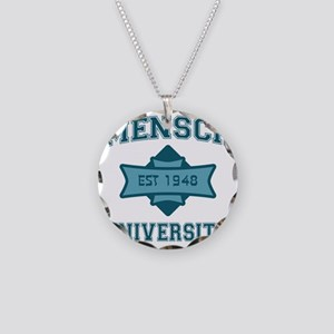 mensch_u Necklace Circle Charm