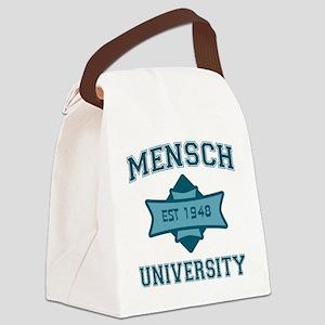 mensch_u Canvas Lunch Bag