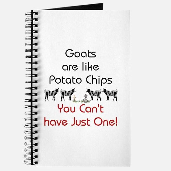 Goats are Like Potato Chips Journal