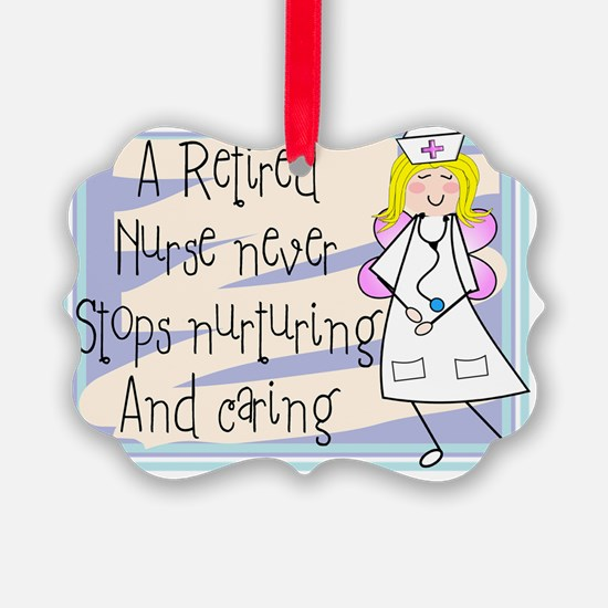 Retired Nurse Ornament