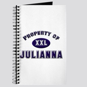 Property of julianna Journal