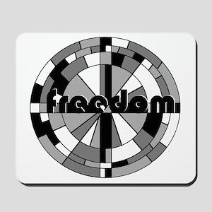 freedom embraced Mousepad