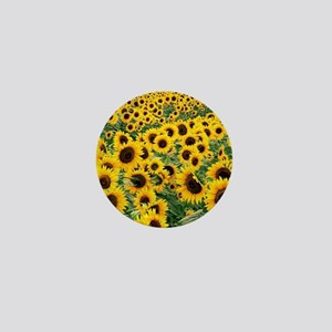 Sunflowers Mini Button