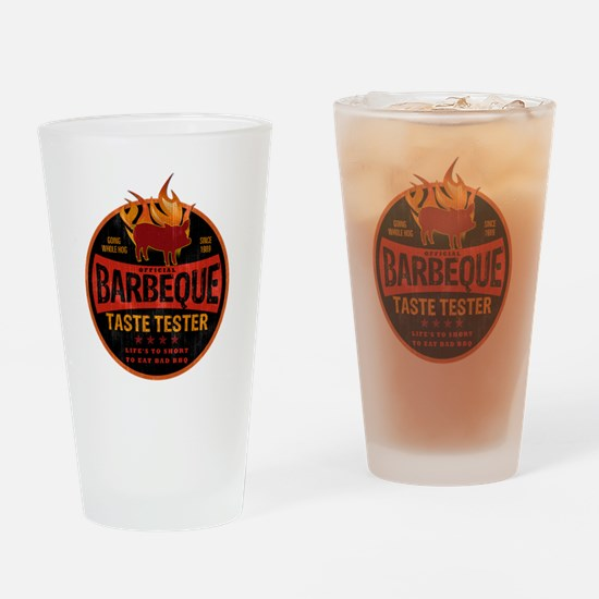 bbq lover Drinking Glass