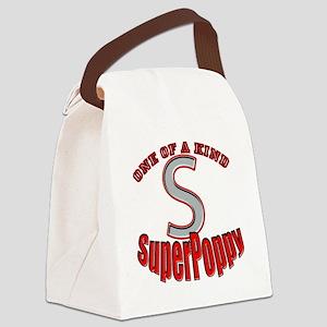 SuperPoppy Canvas Lunch Bag