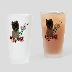 FlowerCairn Drinking Glass
