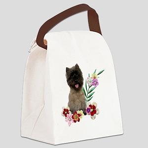 FlowerCairn Canvas Lunch Bag