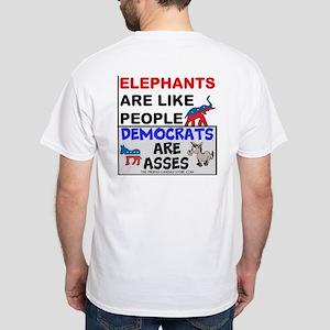 Elephants Are Like People T-Shirt